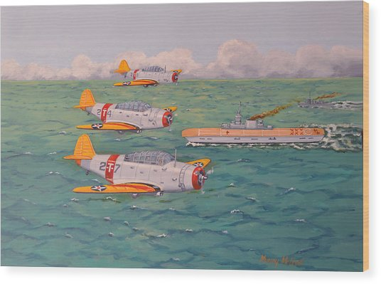Douglas Devastators Wood Print