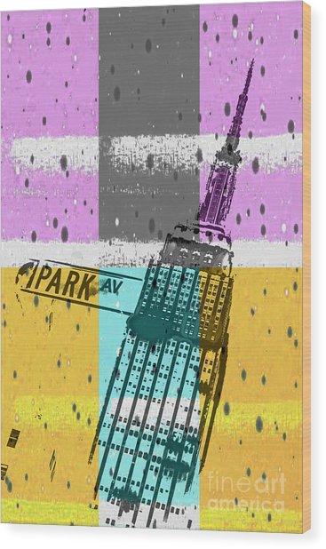 Down Park Av Wood Print