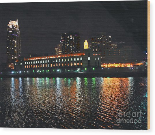 Downtown Minneapolis Wood Print by Graham Taylor
