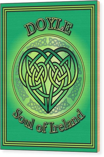 Doyle Soul Of Ireland Wood Print