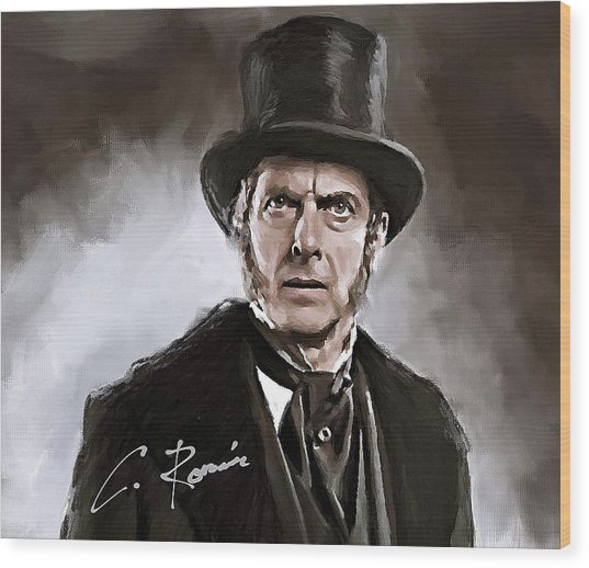 Dr. Who Wood Print