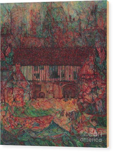 Dragon Hall Wood Print