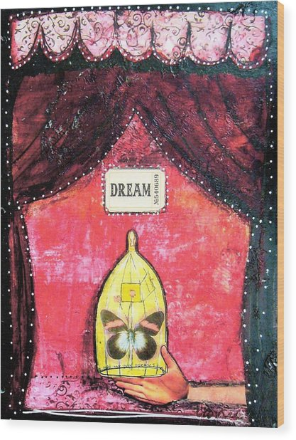 Dream Wood Print by Carrie Todd