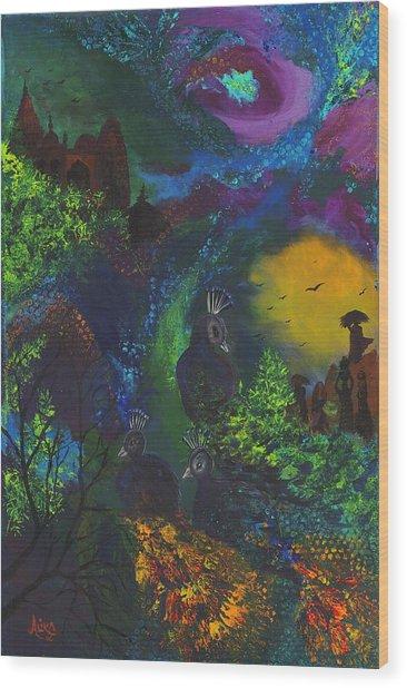 Dream Of India Wood Print