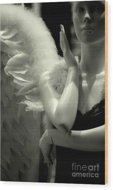 Dream On Wood Print by Vishakha Bhagat