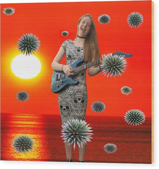 Dream Rock An Roll  Wood Print by Eric Kempson