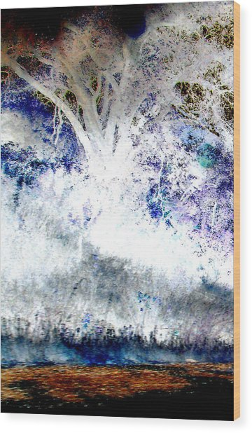 Dream Tree  Wood Print
