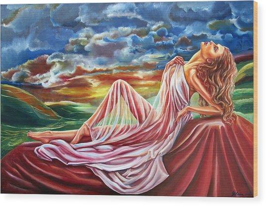 Dreamgirl  Wood Print