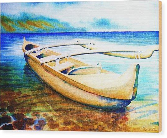 Dreams Of Polynesia Wood Print