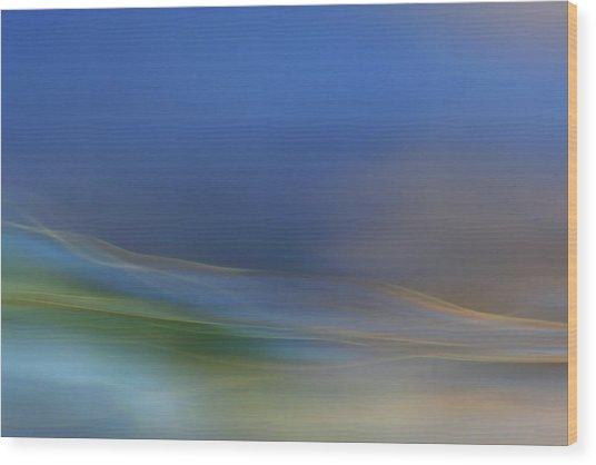 Dreamy Waters Wood Print