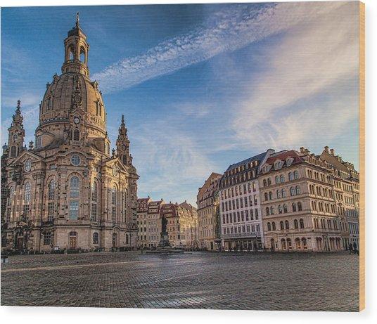 Dresden Frauenkirche Wood Print