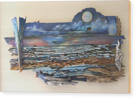 Drift Wood Art  Wood Print