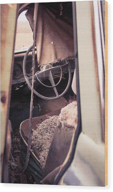 Drivers Seat Wood Print