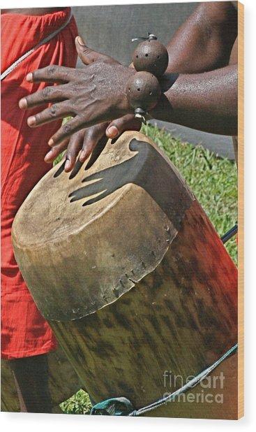 Drum Wood Print