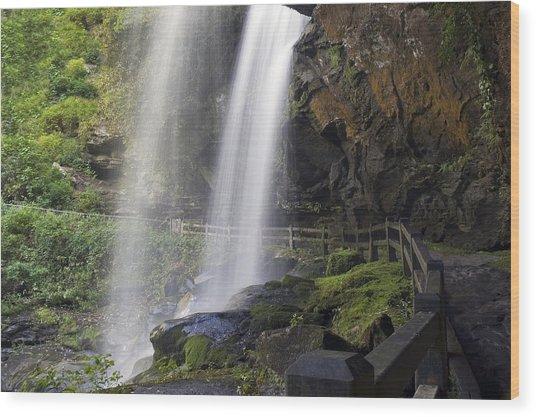 Dry Falls North Carolina Wood Print