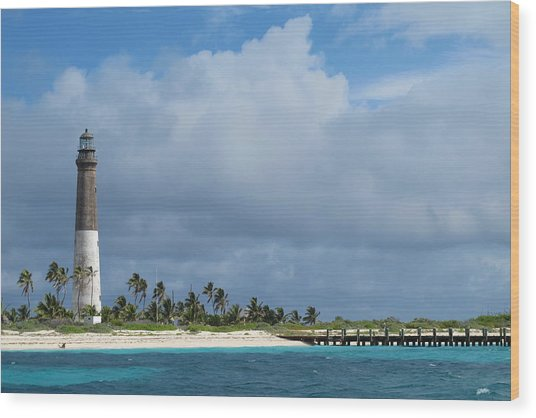 Dry Tortugas Light Wood Print