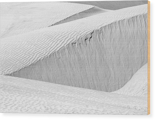 Dune Abstract, Paryang, 2011 Wood Print