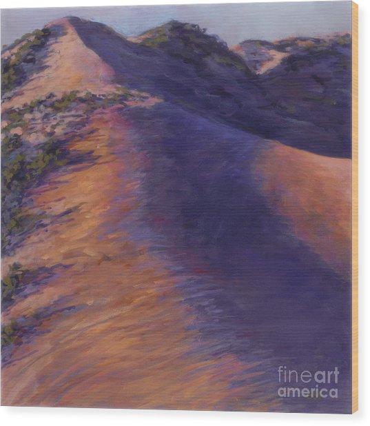 Dune Glow Wood Print