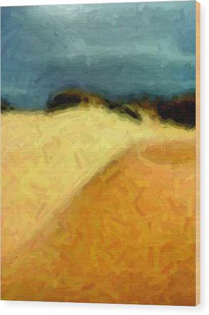 Dunes 1 Wood Print