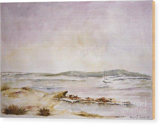 Dunes Iv Wood Print