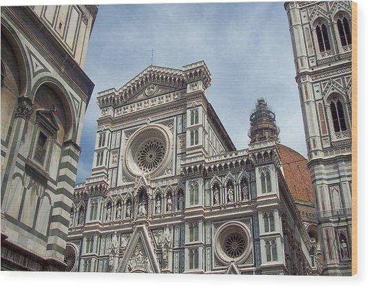 Duomo Florence Wood Print