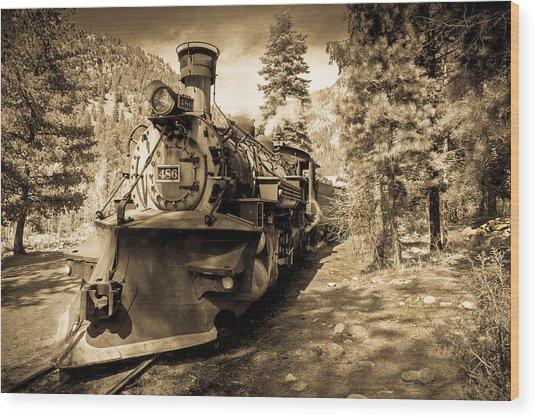 Durango And Silverton #2 Wood Print