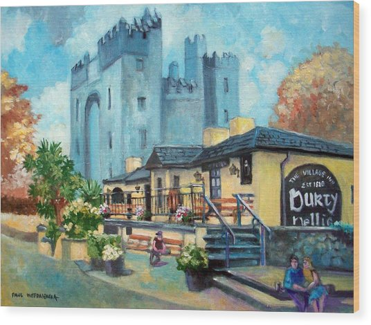 Durty Nellies  Co Clare Ireland Wood Print