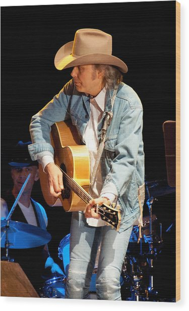 Dwight Yoakam - Streets Of Bakersfield Wood Print