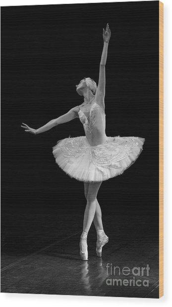 Dying Swan 9. Wood Print