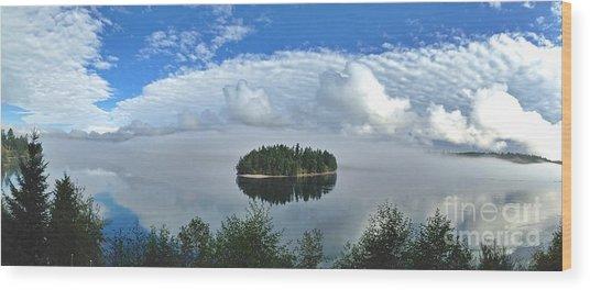 Eagle Island Wood Print