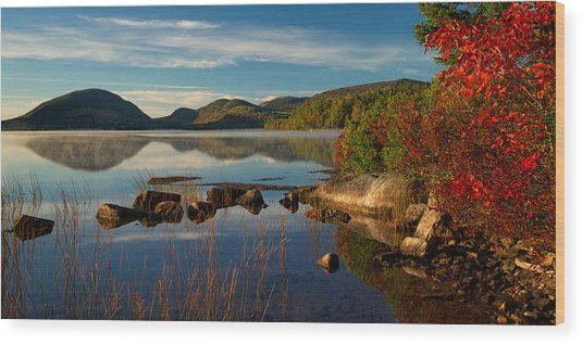 Eagle Lake Wood Print
