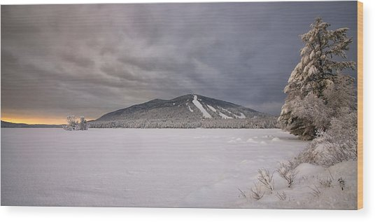 Early Dawn At Shawnee Peak Wood Print