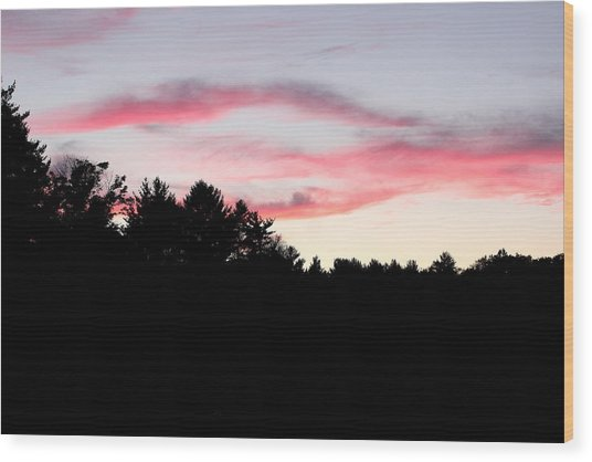 Early Fall Sky Ix Wood Print by Brian Lucia