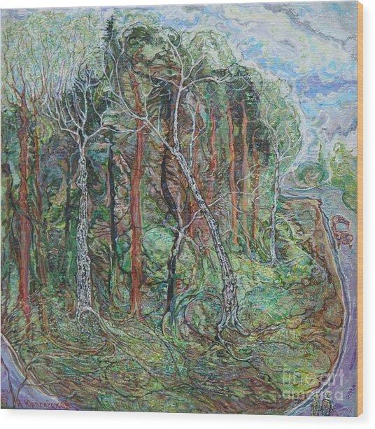 Early May Wood Print