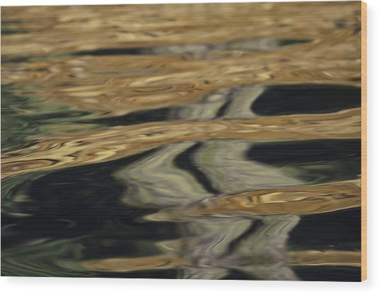 Wood Print featuring the photograph Earth Sky Water by Sherri Meyer