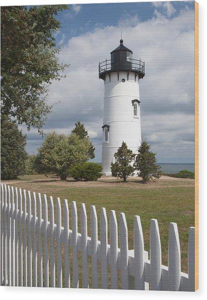 East Chop Lighthouse Wood Print