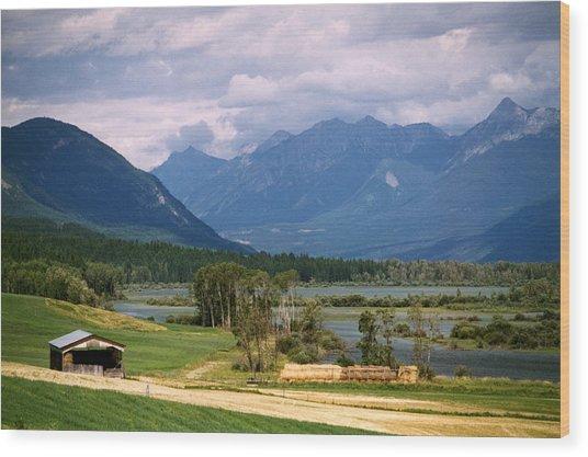 Eastern British Columbia  Wood Print