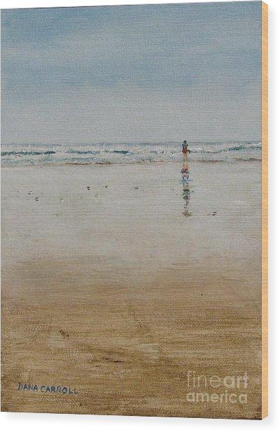 Ebb Tide Wood Print by Dana Carroll