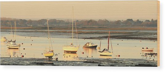 Ebbtide Emsworth Wood Print