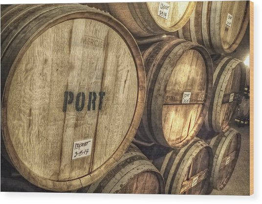 Eberle Port Wood Print by Newman Artography