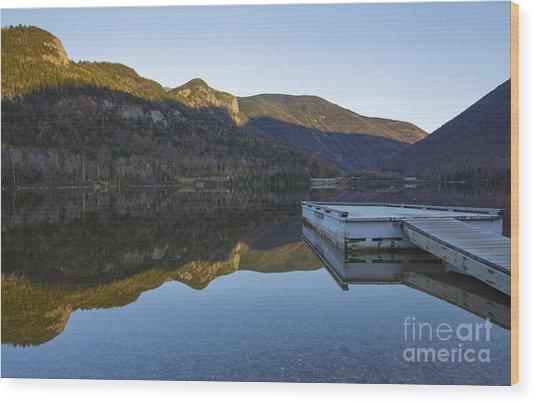 Echo Lake - Franconia Notch State Park New Hampshire Usa Wood Print