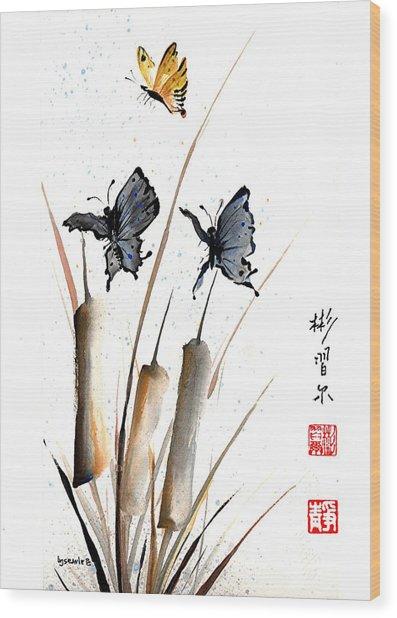 Echo Of Silence Wood Print