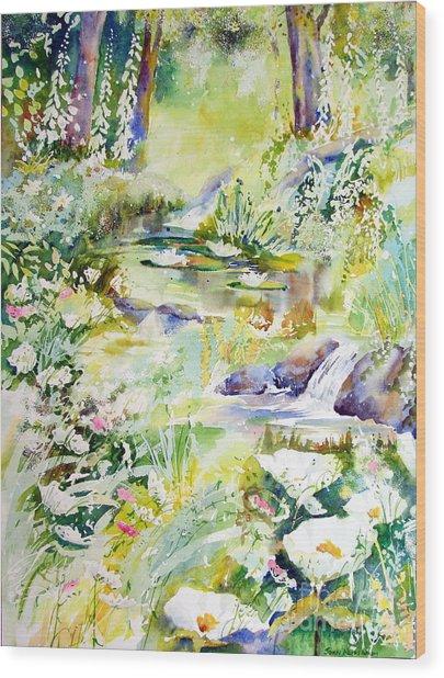Echo Of Spring Wood Print