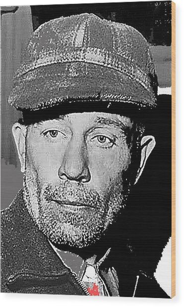 Ed Gein The Ghoul Who Inspired Psycho Plainfield Wisconsin C.1957-2013 Wood Print