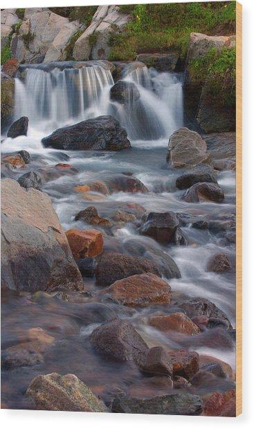 Edith Creek Mt Rainier National Park Wood Print