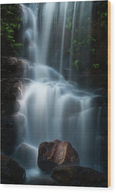 Edith Falls Wood Print