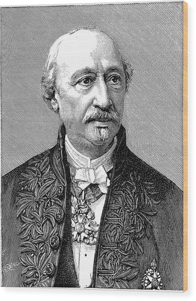 Edmond Becquerel Wood Print