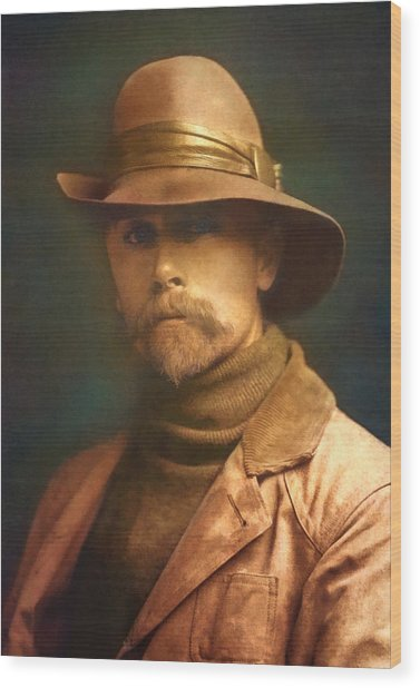 Edward S. Curtis 1899 Wood Print