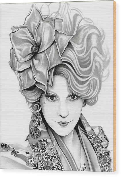 Effie Trinket - The Hunger Games Wood Print