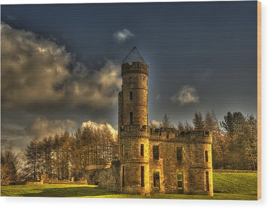 Eglinton Castle Wood Print
